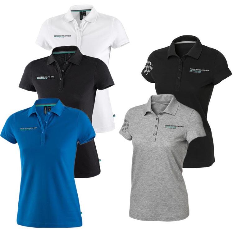 mercedes amg petronas team f1 polo poloshirt damen shirt formel 1 neu ebay. Black Bedroom Furniture Sets. Home Design Ideas
