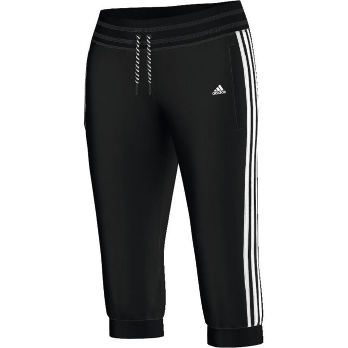 adidas damen 3 4 hose essentials pants ess hose sporthose pant fitness freizeit ebay. Black Bedroom Furniture Sets. Home Design Ideas