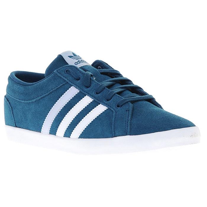 Details zu adidas Adria PS 3S W Schuhe Turnschuhe Sneaker Trainers Blau wildleder NEU