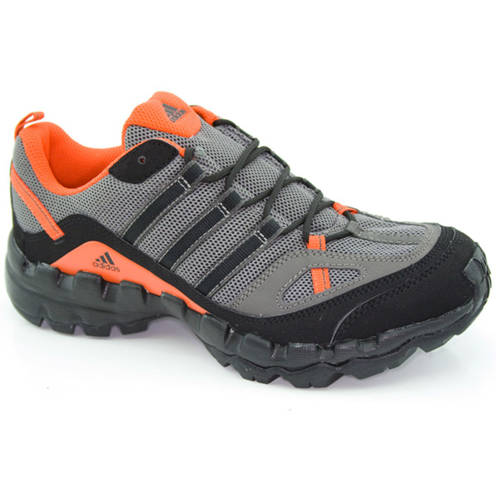 adidas ax 1 outdoor shoes gray size 38 2 3 trekking trail. Black Bedroom Furniture Sets. Home Design Ideas
