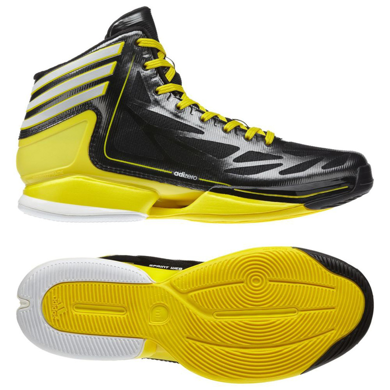 Elegant ADIDAS BASKETBALL ADIZERO CRAZY LIGHT 2 Shoes Sneakers Size 40 50, 5 Black