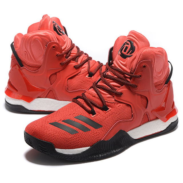 Adidas D Rose 7 Basketball Shoes Sneakers Trainers Mens Red ...