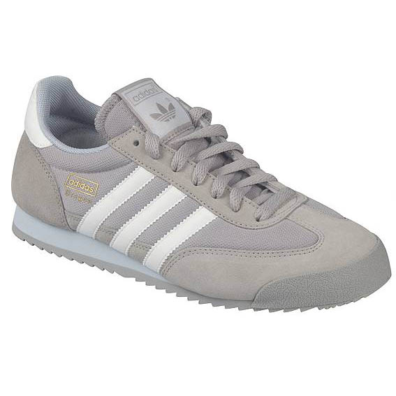 adidas dragon shoes trainers size 40 45 grey white. Black Bedroom Furniture Sets. Home Design Ideas