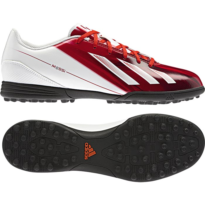 Adidas F5 Messi adidas f5 trx tf messi shoes football boots indoor size 39-44 red