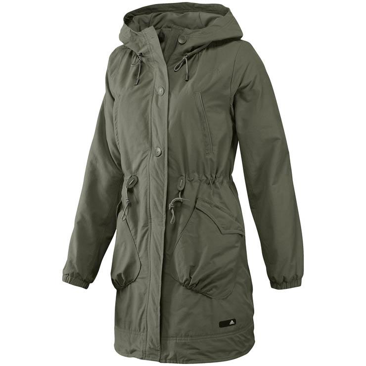 adidas j casual parka jacke damen mantel jacket gr s. Black Bedroom Furniture Sets. Home Design Ideas