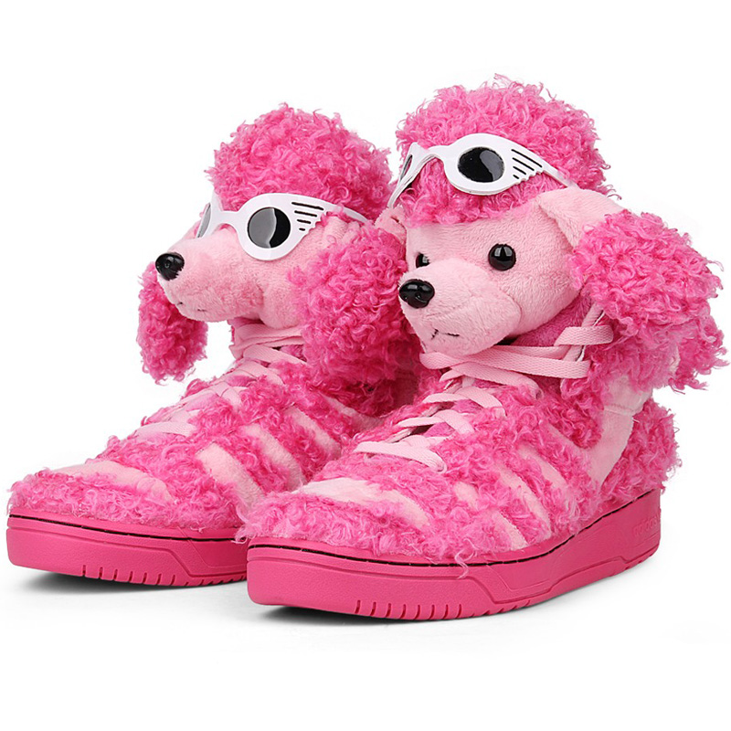 adidas by js poodle poodle pink shoes