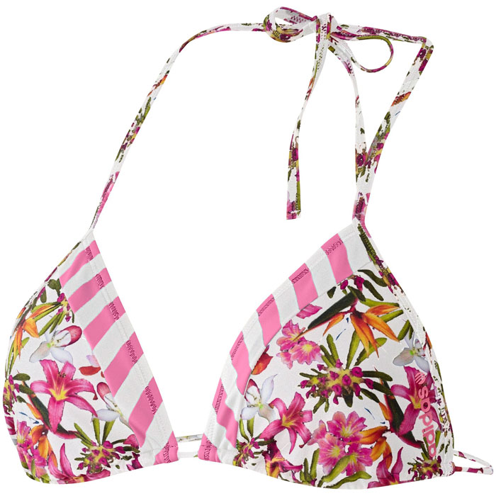 adidas neo ptn bikini top flowers oberteil damen swimmwear. Black Bedroom Furniture Sets. Home Design Ideas