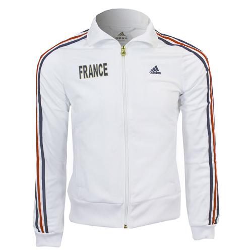 M Tracktop L France Xl Jacket Ladies Details About S Size Sports Adidas White Xs New QdtrsxChB