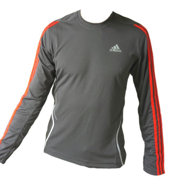 adidas running response ls crew sweatshirt shirt gr xs climacool formotion grau ebay. Black Bedroom Furniture Sets. Home Design Ideas