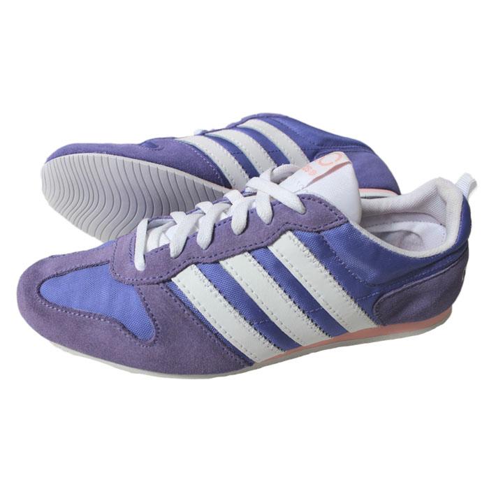 promo code 0fa90 4dc50 ... best adidas runneo slim jog w shoes trainers trainers neo purple white  ladies 28abc 7f49b