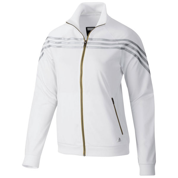about adidas sf iconic jacke sportjacke gr 32 44 damen wei silber. Black Bedroom Furniture Sets. Home Design Ideas