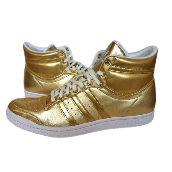 adidas top ten hi sleek w schuhe sneaker turnschuhe gr 42 gold neu. Black Bedroom Furniture Sets. Home Design Ideas
