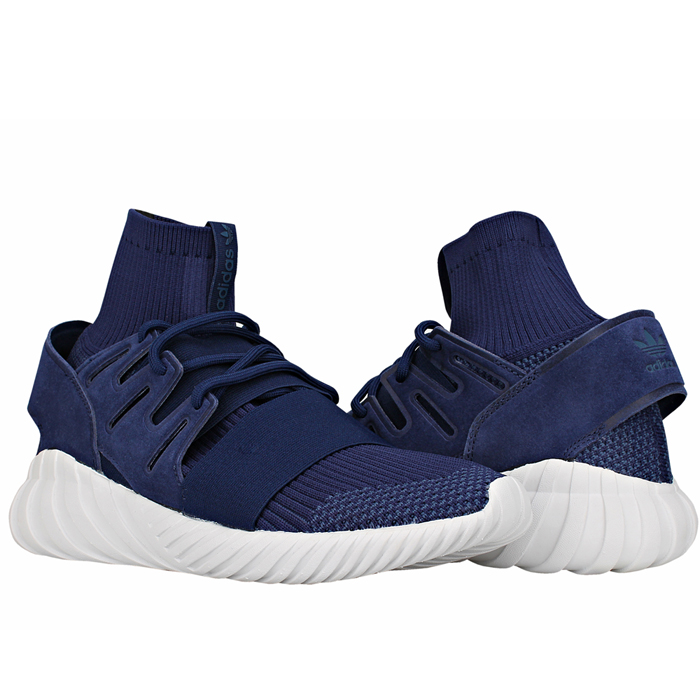 f894adaa3c7a Details about Adidas Tubular Doom PK PRIMEKNIT TRAINERS Trainers Blue Shoes  NEW