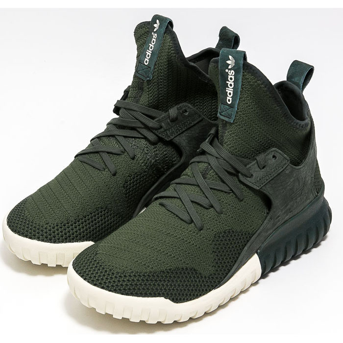 adidas tubular x green