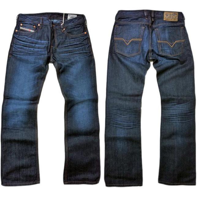 diesel zatiny 73n jeans pants denim size 27 to 40 blue. Black Bedroom Furniture Sets. Home Design Ideas