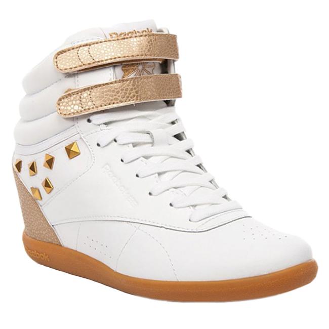 reebok freestyle hi int wedge schuhe turnschuhe sneaker fs trainers wei leder. Black Bedroom Furniture Sets. Home Design Ideas