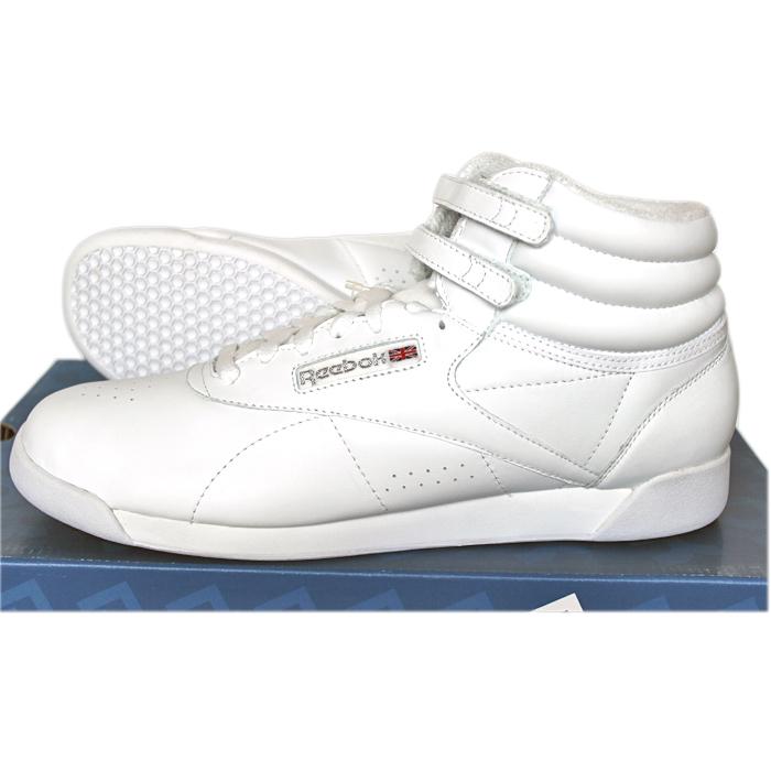 reebok freestyle hi f s schuhe sneaker fitnessschuhe leder. Black Bedroom Furniture Sets. Home Design Ideas