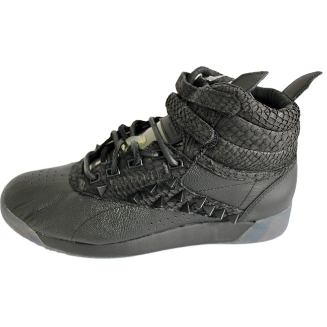 e763367b461fb Details about Reebok Freestyle FS Hi Pm Patrick Moor Trainers Trainers  Leather Women