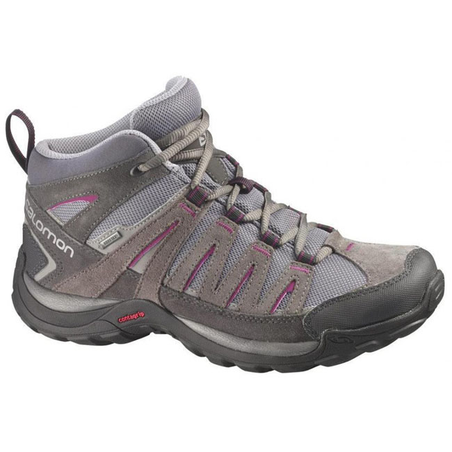Salomon Norwood MID W Shoes Outdoor Shoes Trail Hiking ...